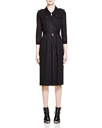 03f4005700e Burberry Agatha Silk Trench Dress (UK 4   US 2