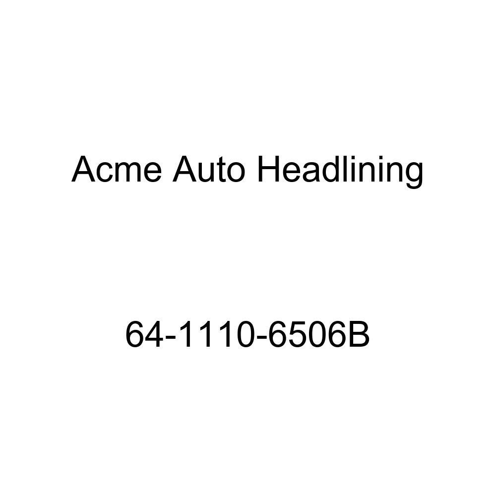 Buick Lesabre /& Wildcat 2 Door Hardtop 6 Bow Acme Auto Headlining 64-1110-6506B Aqua Replacement Headliner