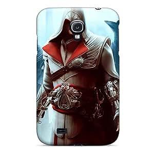 Excellent Design Assassins Creed Phone Case For Galaxy S4 Premium Tpu Case