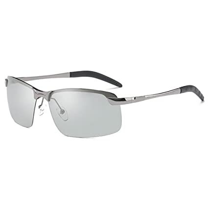 QZ HOME Gafas De Sol Día Y Noche Luz Polarizada Gafas Que Cambian De Color Conducir