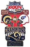 Super Bowl XXXIV Oversized Commemorative Pin