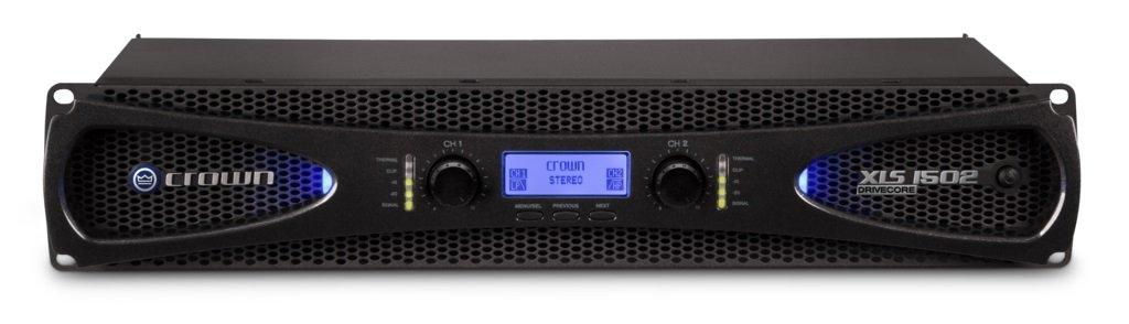 AMCRON アムクロン XLS DriveCore 2 Series パワーアンプ XLS1502 【国内正規品】 525W+525W(4Ω)/300W+300W(8Ω)  B01ER5ZZTE