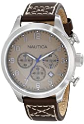 Nautica Men's N14698G BFD 101 Chrono Classic Japanese Chronograph Movement Watch