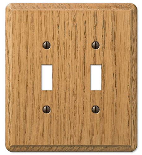 (Amerelle 901TTL Contemporary 2-Toggle Wall Plate)