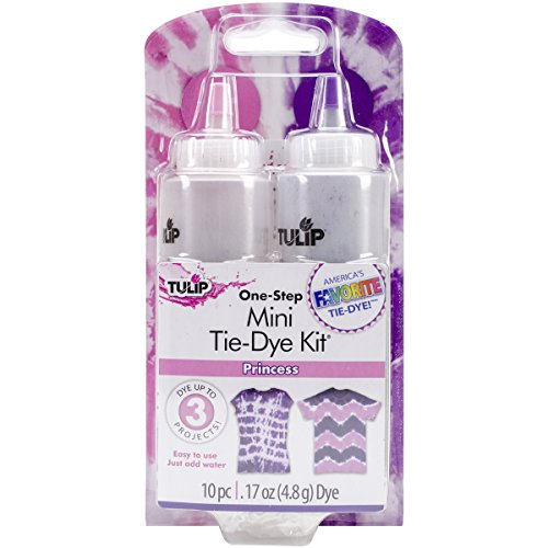 - Tulip One-Step Tie Dye Kit, Mini, Princess, 2-Pack