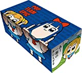 Pop Team Epic Popuko & Pipimi Card Game Character Storage Box Case Holder with Dividers Collection Anime Art