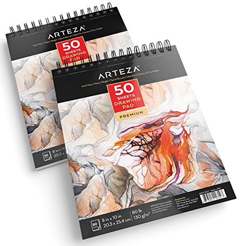 Arteza 8X10 Drawing Pad