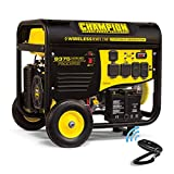 Champion Power Equipment 100161 7500 Watt RV Ready Portable Generator with Wireless Remote