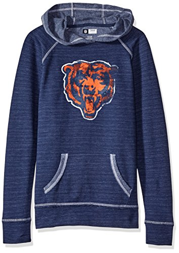 nfl-long-sleeve-raglan-pullover-hoodie-the-all-out-action-program-chicago-bears-medium