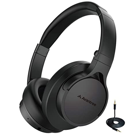 Avantree HS063 No Audio Delay Fast Stream Comfortable Bluetooth Headphones  Over Ear with Mic for TV b632e5d300