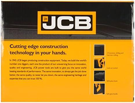 JCB JCB-SDS20-20 Mm 500 W Rotary Hammer Drill (Yellow and Black)