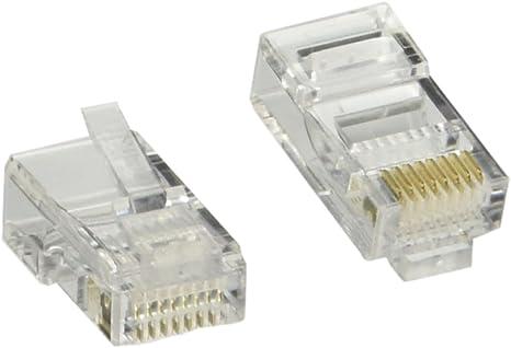 Clear Belkin RJ45 Modular Connector 25 Pack