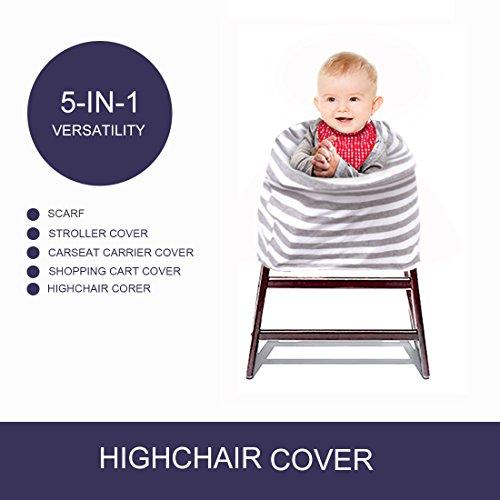 Kyapoo Baby Nursing Breastfeeding Cover Multi-Use Flexible Unisex Super Soft 100% Organic Cotton by Kyapoo (Image #3)