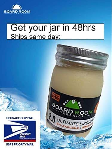Ultimate Liposomal Vitamin C - 2.0 - Better Than Ever- Ultimate Liposomal Vitamin C | 3000mg Per Serving | 16oz | Non-GMO!|Board Room Organics/#1 Best Liposomal C on Market Today