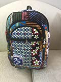 Colorful African Fabric Backpacks (multi-color) by Doorstoafrica