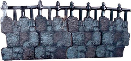 Rubies Costume Halloween Decoration Cemetery Club, Iron Fence Kit]()