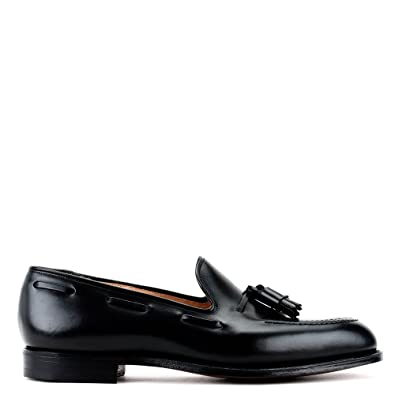 CROCKETT & JONES HOMME 9376101501 NOIR CUIR MOCASSINS c7zrn