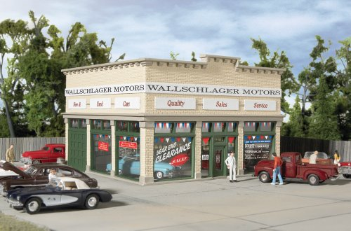 - Walthers Trainline HO Scale Wallschlager Motors Building