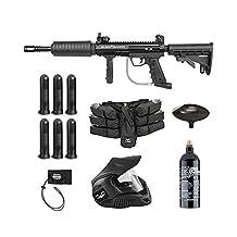 Valken 87107 Tactical Blackhawk Foxtrot Rig Paintball Gun Package