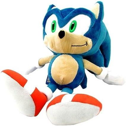Amazon Com Sanei Sonic The Hedgehog 9 Sonic Plush Old Ver Toys Games