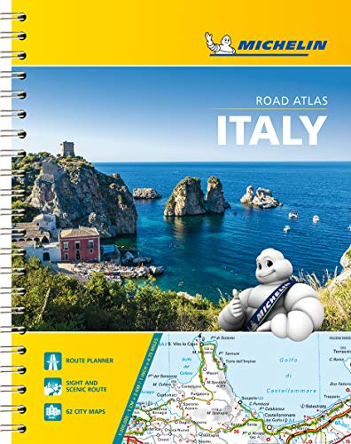 Michelin Italy Road Atlas (Atlas (Michelin)) (Italy Driving Map)