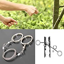 Forfar Wire Saw Tool Chain_Saw Wire_Saws Rope Saws Emergency_Survival Gear_Tools Hunting Camping Outdoor Sports Metal Steel Tools