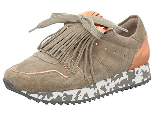 Kennel & Schmenger 16820-654 - Zapatillas de Piel para mujer SPECCHIO/NATUR/ROSE