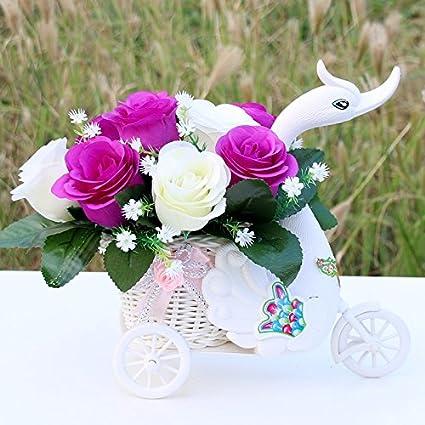 El Pote De La Flor Decoración De Carrozas Florales