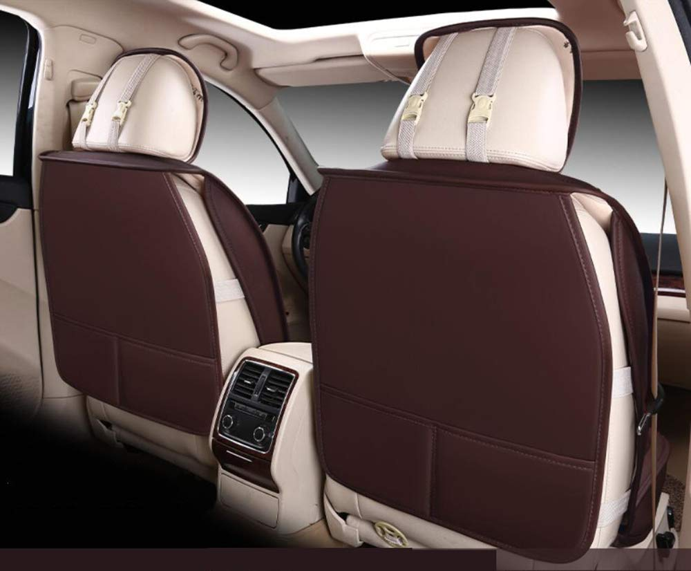 KADJAR Laguna Espace,Beige,CAPTUR CAPTUR Scenic Ice Silk Autositzbezug Kompatibel mit Renault Koleos M-X-Y-Z PU Leder