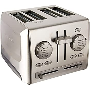 Amazon Cuisinart CPT 180 Metal Classic 4 Slice Toaster