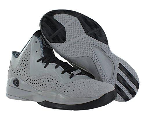 Adidas Hombres D Rose 773 Iii Ltonix / Negro / Ltonix Zapatillas De Baloncesto Onix-black