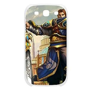 Garen-001 League of Legends LoL case cover Iphone 5/5S Plastic White