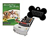 GoPet Petrun Indoor Exercise Treadmill for Dogs Up to 44 Pounds (Model #: PR-700) with FREE Custom Bone Shaped Dog Tag and E-Book