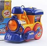 GN New Kids-Bump N Go-Bubbles Blowing-Train Engine-Machine-GN Enterprises (Blue)