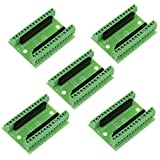Anmbest 5PCS Nano Screw Terminal Adapter Shield Expansion Board DIY Kits for The Arduino Nano V3.0 AVR ATMEGA328P CH340G