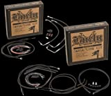 Burly B30-1041 Cable/Brake Line Kit for 16'' Height Apehanger Handlebars