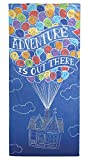 Disney/Pixar Up Hand Drawn Soft Cotton 28'' x 58'' Bath, Pool, Beach Towel