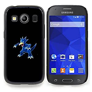 """Qstar Arte & diseño plástico duro Fundas Cover Cubre Hard Case Cover para Samsung Galaxy Ace Style LTE/ G357 (Golduck P0kemon"""")"""