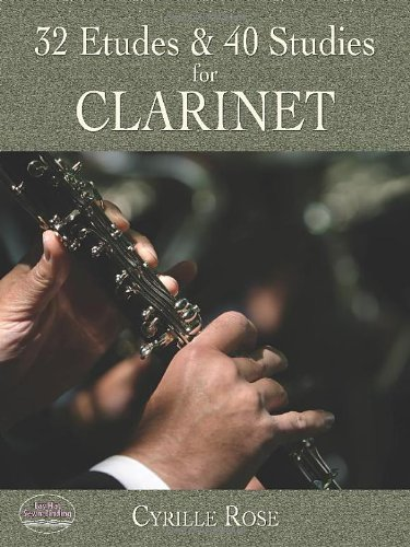 32 Etudes and 40 Studies for Clarinet (Dover Chamber Music Scores) ()