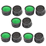 faucet aerator replacement - uxcell Plastic Faucet Aerator Insert Laminar Replacement Green 10pcs
