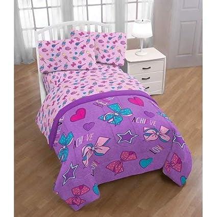 Nickelodeon Girls JoJo Siwa Twin Bedding Set