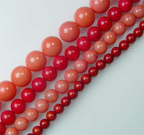 bamboo coral round 3mm pink color 16 inch (Bamboo Coral Beads)
