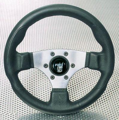Raid Lenkrad Sportlenkrad, HP Sport schwarz silber,340mm, 044345