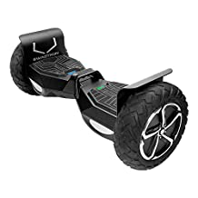 Swagtron T6 Off-Road Hoverboard First in the World to Handle Over 250 lb, Black
