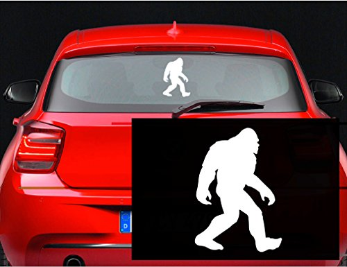 Sasquatch Bigfoot Vinyl Sticker inches product image