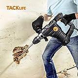 TACKLIFE 1-1/4 Inch SDS-Plus 12.3 Amp Rotary Hammer