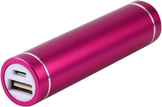 Mini USB Mobile Power Bank Cargador Paquete Caja Caja de batería para 1x 18650 Batería USB DC 5V Entrada Universal Cell Phones: Amazon.es: Electrónica
