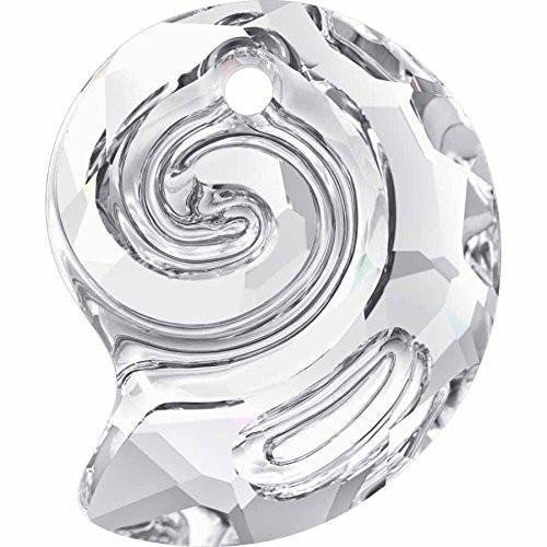 6731 Swarovski Pendant Snail - Designer Edition | Crystal | 14mm - Pack of 1 | Small & Wholesale ()