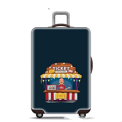 Fundas para maletas de viaje,Cubierta protectora de equipaje de viaje Elástica Tela elástica Spandex