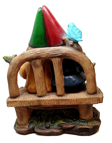 GROW-OLD-WITH-ME-MR-AND-MRS-GNOME-GARDEN-LAWN-DECOR-STATUE-FIGURINE
